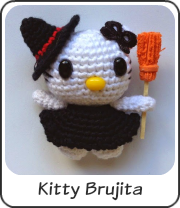 Kitty Brujita amigurumi