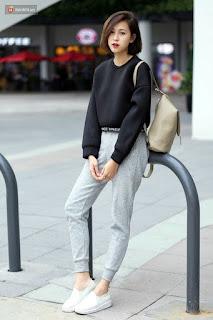 Model Jogger Dan Sweaters wanita kekinian