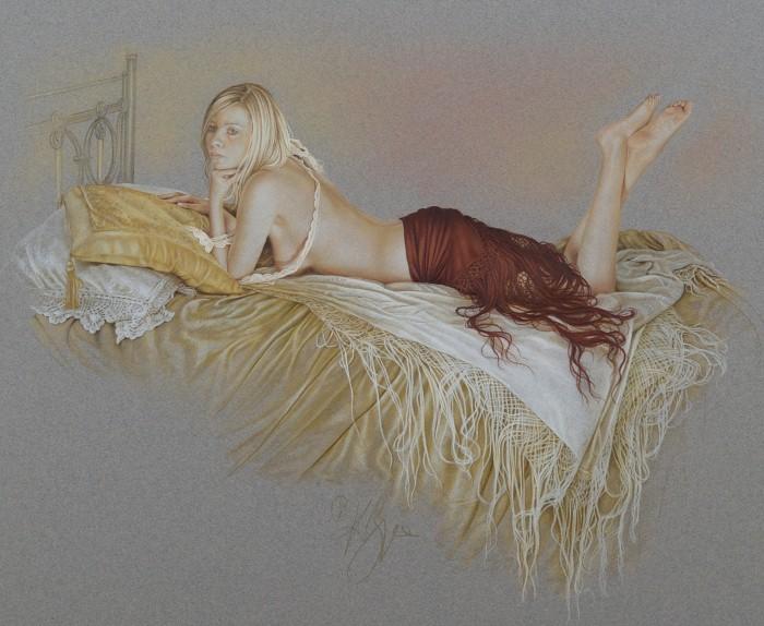 Пастели на тему балета. Kay Boyce 11