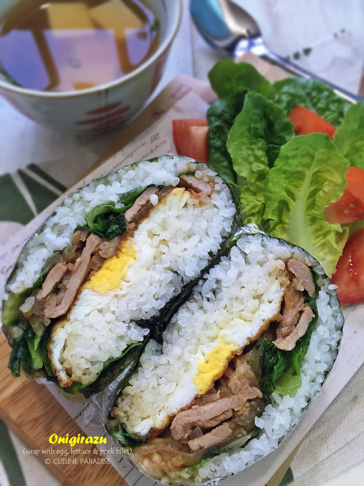 Cuisine paradise singapore food blog recipes reviews and hi everyone today i am sharing a long overdue post on making onigirazu which i have posted months back over at instagram and dayre forumfinder Images