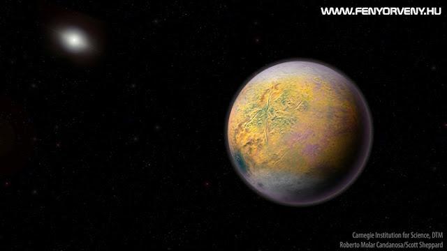 Újonnan felfedezett égitest vezethet el a titokzatos kilencedik bolygóhoz