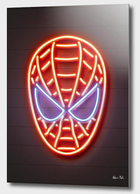 Spiderman Aluminum Print