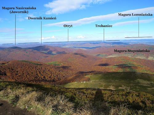 Panorama północno-zachodnia.