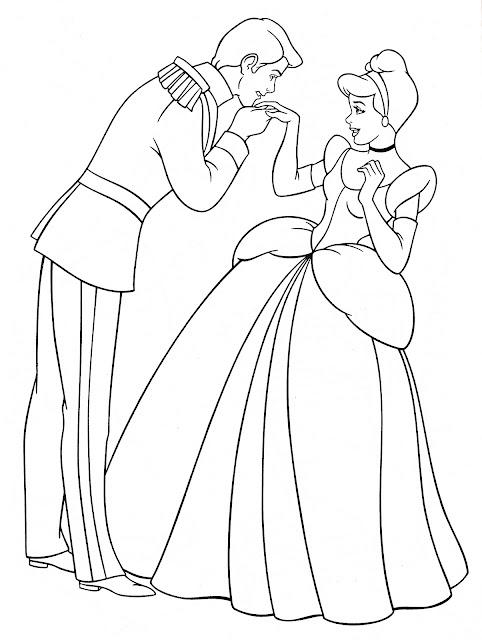 tranh tô màu công chúa Disney 22