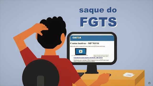 Liberação do FGTS para contas inativas vira golpe na Internet