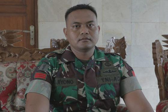 Praka Pujiyono, Tentara Yang Cari Korban Longsor Dengan Teknik Pernapasan