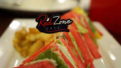 Red Sandwich ala Red Zone Cafe