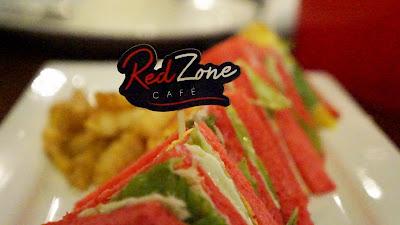 Red Sandwich ala Red Zone Cafe