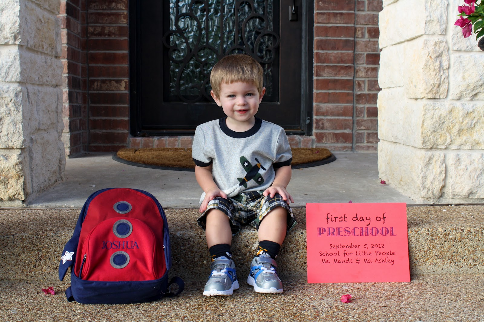 Quotes Of A Boy Mom Joshuas First Day Of Preschool