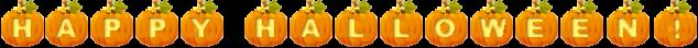happy halloween effect gif