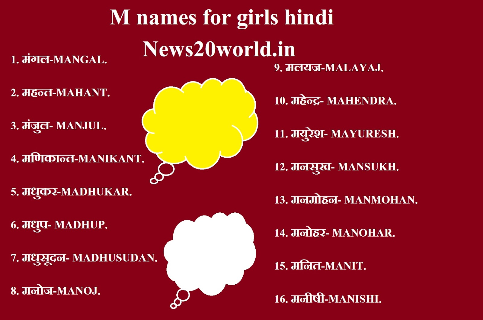 M Names For Girls Hindi M Name List Hindi Hindu Girl