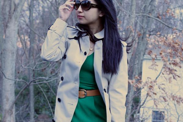 OOTD: Green Dress