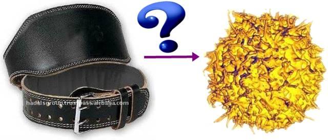 ¿Utilizar cinturón de gimnasio apretado produce cáncer?