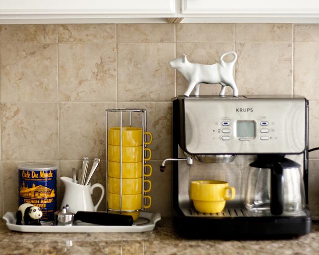 Patriciado cantinho do caf ou coffee station for Apartment therapy best coffee maker