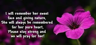 Condolence messages