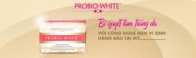 thuốc uống đẹp da Probio White
