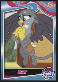 My Little Pony Gabby Series 4 Trading Card