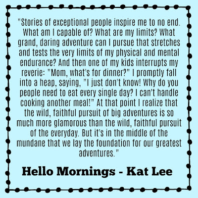 Hello Mornings by Kat Lee review on Tomes and Tequila