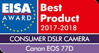 EISA Consumer DSLR Camera 2017-2018