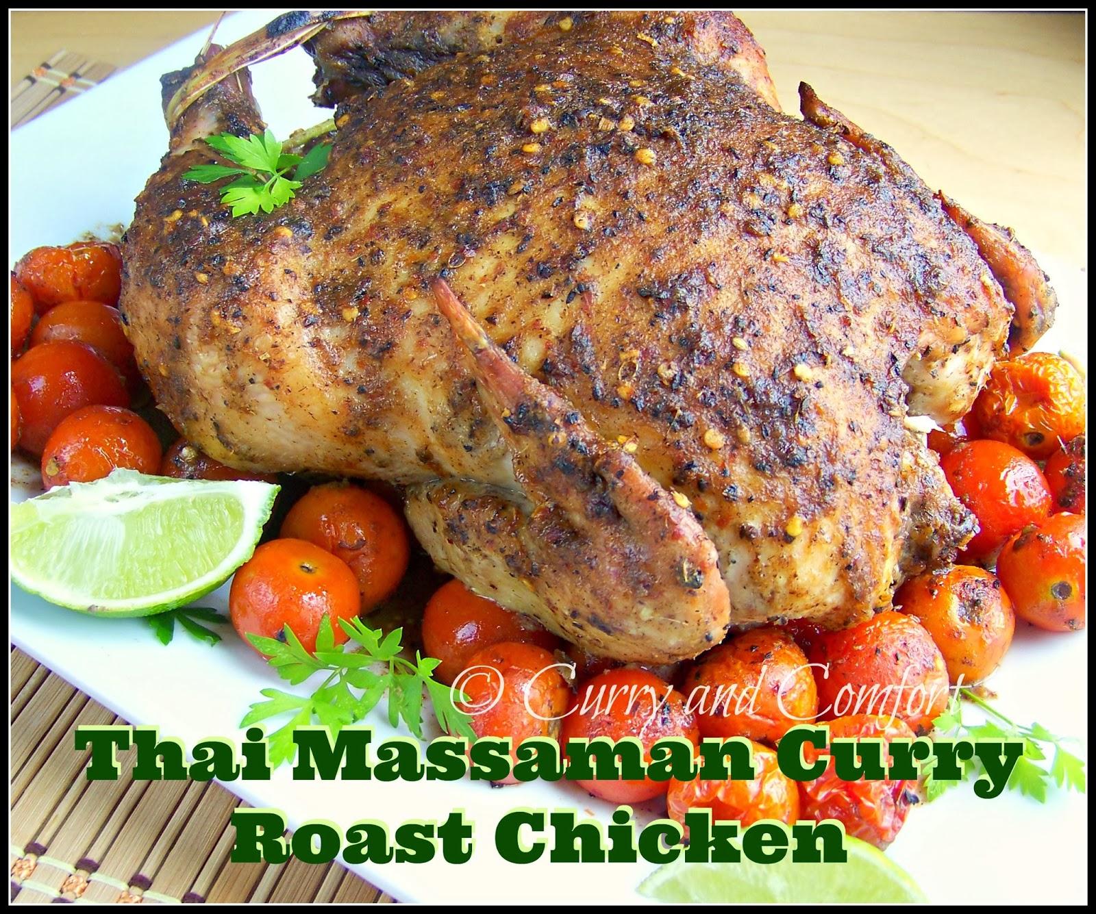 Kitchen Simmer Thai Massaman Curry Roast Chicken