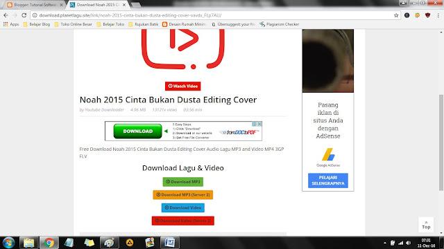 Cara Mudah Download Lagu