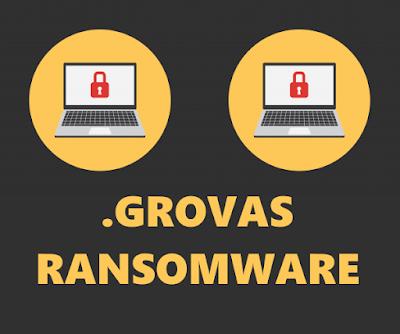 """Grovas """"جروفاس""""  فيروس فدية جديد ينتشر بين الأجهزة بسرعه هائلة وكيف تحمى نفسك منه"""