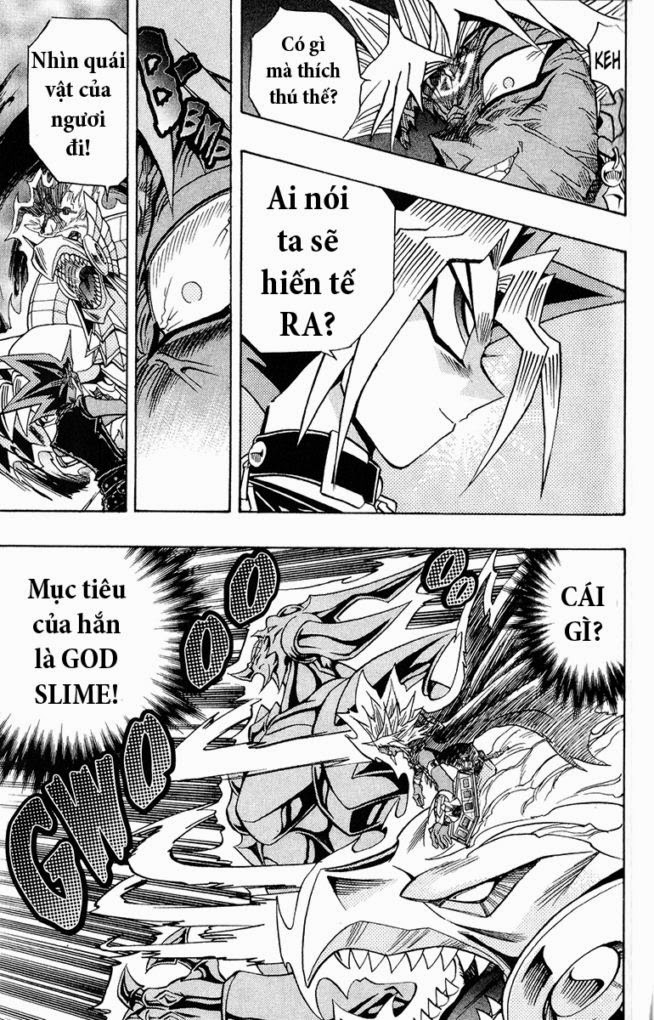 YUGI-OH! chap 274 - đòn tấn công từ bóng tối trang 16