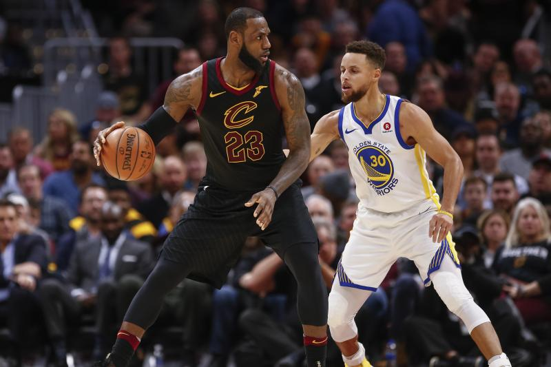 Warriors y Cleveland se juegan Final de la NBA por cuarto año consecutivo