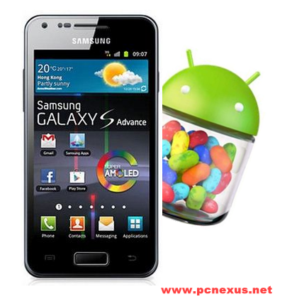 samsung galaxy s advance jellybean