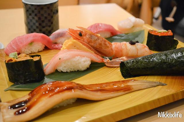 【日本。東京】平價抵食超人氣梅丘寿司の美登利 6