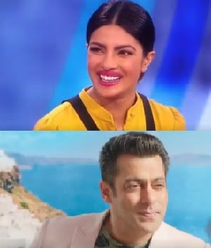 Priyanka, Salman, Film, Come Back, Bharat