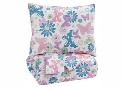 floral kids bedding