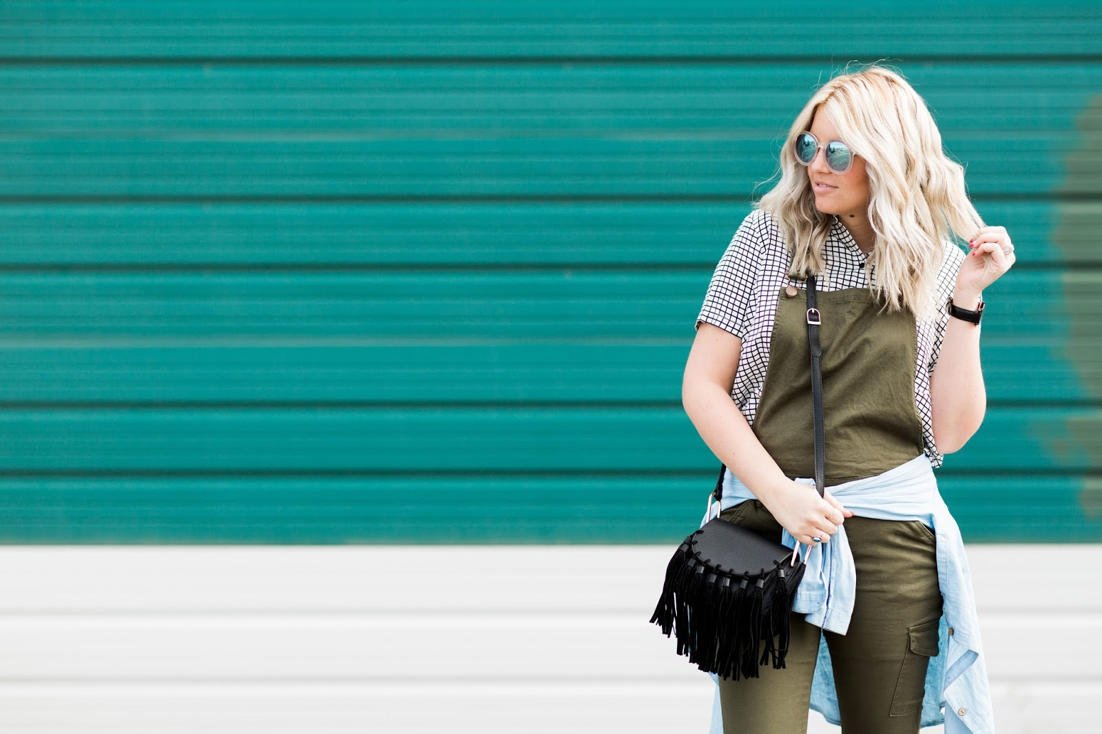 Spring Outfit, Utah Fashion Blogger, Overalls