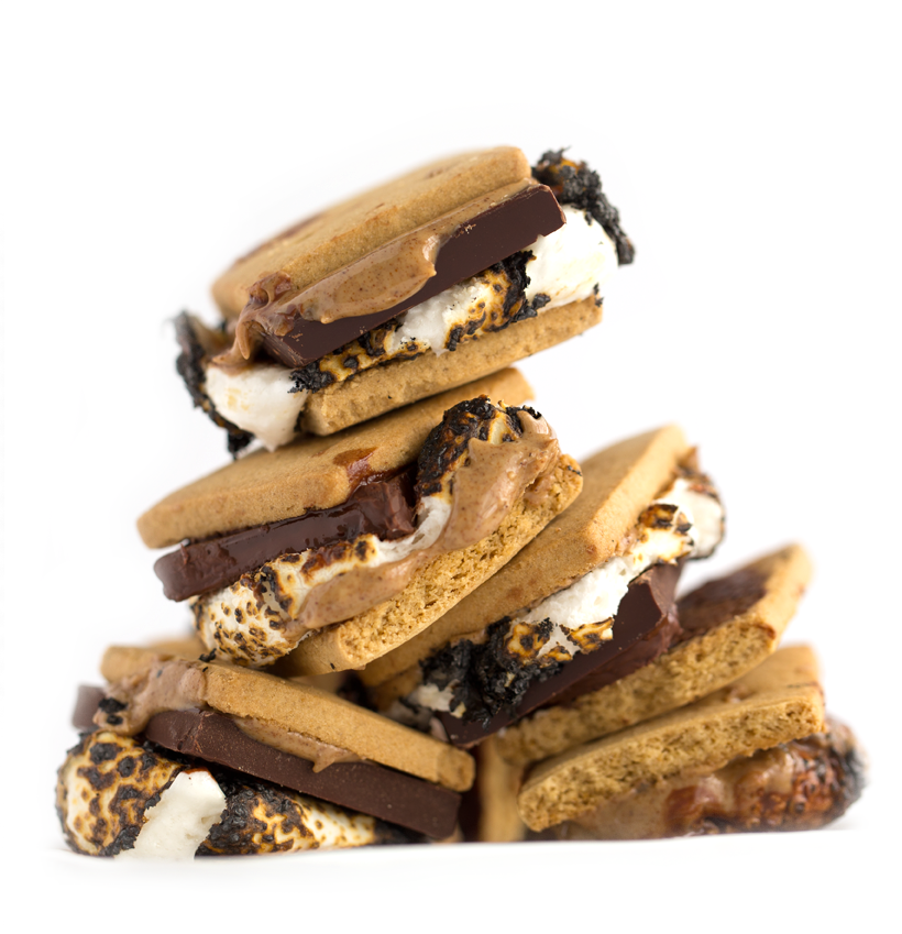 Vegan Almond Butter S'mores