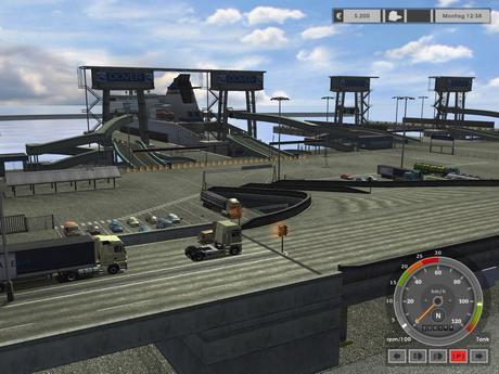 Euro Truck Simulator 1 Gameplay Screenshot