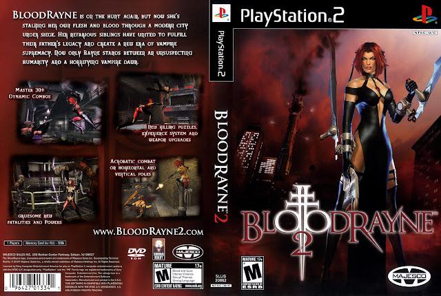 Capa PS2 BloodRayne 2