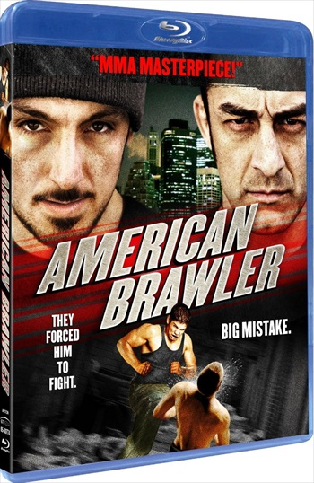 Free Download American Brawler 2013 Dual Audio Hindi  BluRay 300mb