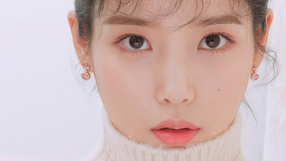 IU, Beautiful, K-Pop, Girl, 4K, #6.858