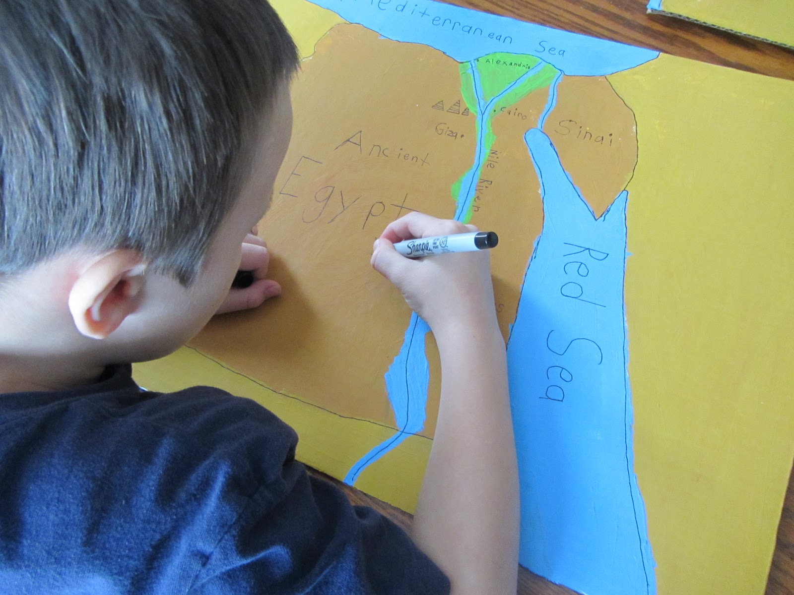 The Unlikely Homeschool Ancient Egypt Unit Study Map Of