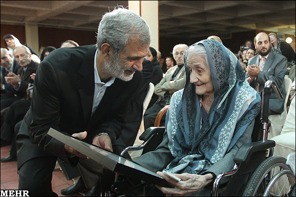 Madre de la astronomía iraní Alenush Teryan