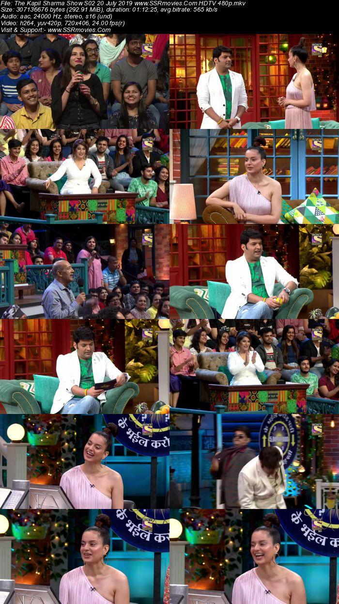 The Kapil Sharma Show S02 20 July 2019 Full Show Download HDTV HDRip 480p