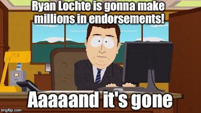lochte liar, lochtegate, olympics, rio olympics, ryan lochte olympics, rio liars, ryan lochte meme, ryan lochte loses endorsements, olympic swimming