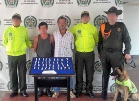 Allanamiento en Guataquí, Cundinamarca, permite la captura de dos personas con estupefacientes