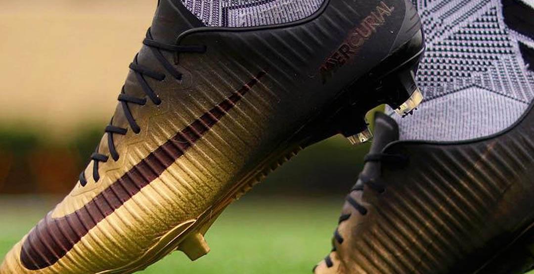 gut aussehend tolle Preise großer Rabatt Verrückte, maßgeschneiderte Nike Mercurial Vapor Rare Gold ...