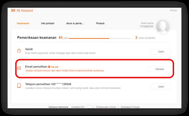 Tutorial Cara Cepat Daftar Akun Xiaomi