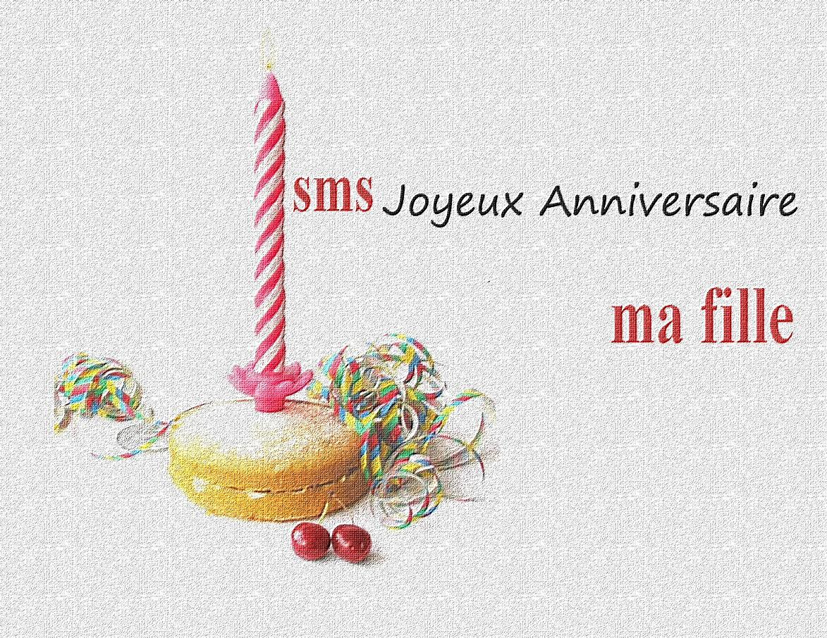 Super joyeux anniversaire ma fille ~ Poème et Textes d'amour GP94