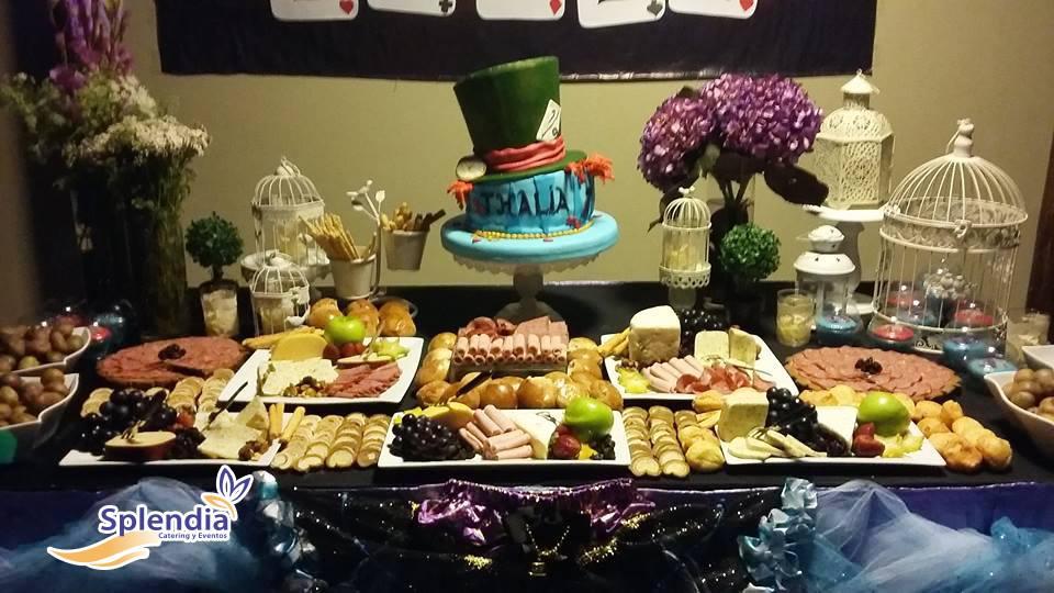 Splendia catering eventos mesas de quesos de frutas - Mesa de quesos para bodas ...