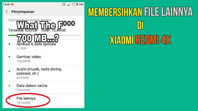 Smartphone xiaomi dengan segala keistimewaan dan kekurangannya sudah berhasil menjadi produs Rahasia…Cara Menghapus File Lainnya/ Misc/ Serba Aneka di Xiaomi