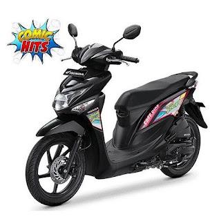 Sepeda Motor Beat Pop 4