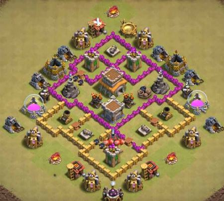 Anti Everything TH6 War Base